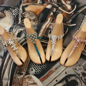 Sandales Seror avec brides avec Swarovski 1